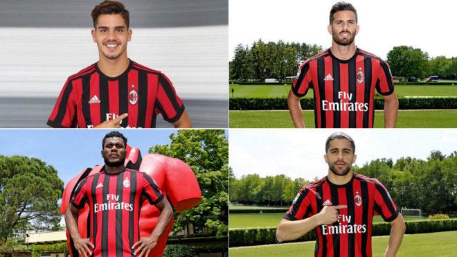 Milan new signings 2017