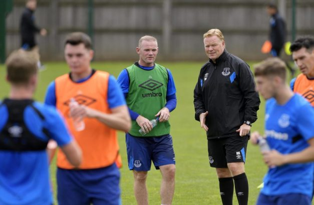 Rooney Koeman Everton