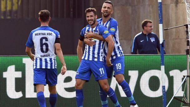 Leckie debut Hertha