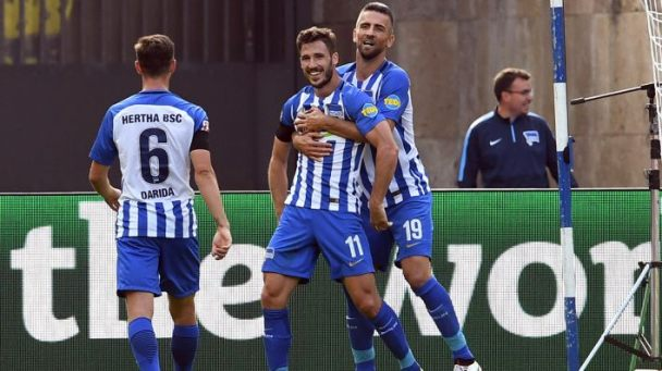 Leckie debut Hertha