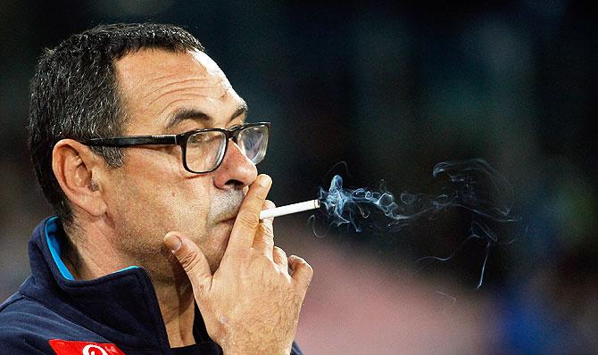sarri smoking